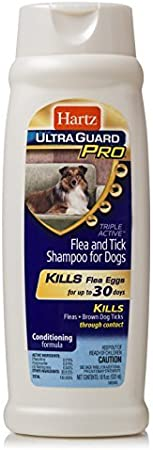 Hartz UltraGuard Plus Flea & Tick Shampoo for Dogs with Soothing Aloe
