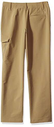 Under Armour Boys' Match Play Cargo Pants,Canvas (254)/Canvas, 7 by Under Armour (Image #2)