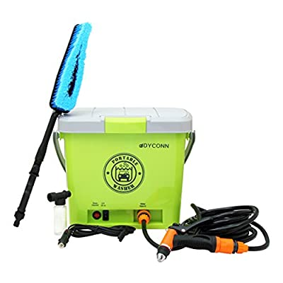 Dyconn Faucet HPPWS-12V Portable Pressure Washer System for Car Wash