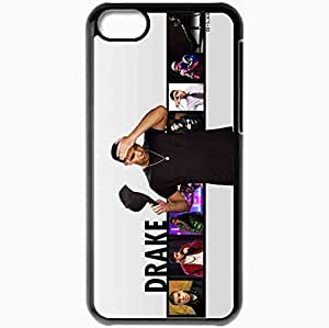 Personalized iPhone 5C Cell phone Case/Cover Skin 2013 drake by lab wide Black