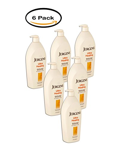 PACK OF 6 - Jergens Ultra Healing Extra Dry Skin Moisturizer