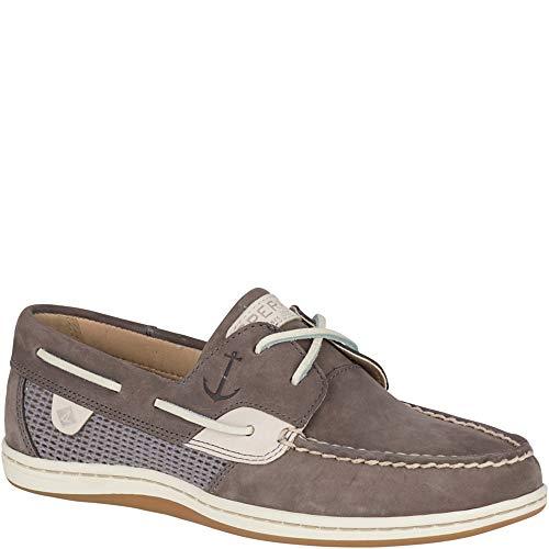 - SPERRY Women's Koifish Mesh Boat Shoe, Grey, 8.5