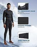 Dark Lightning Mens 3mm Full Suit Wetsuit for Scuba