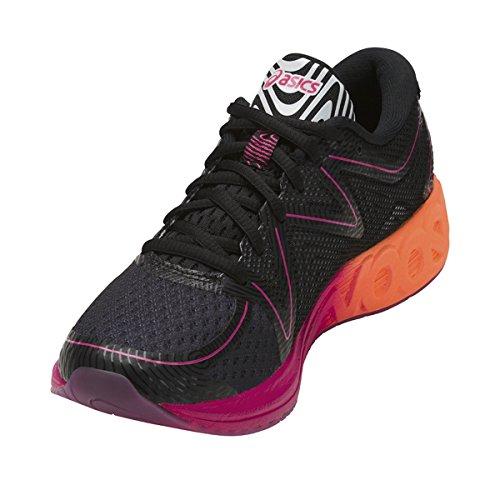 Asics Noosa Ff, Zapatillas de Entrenamiento para Mujer Negro (Black/hot Orange/pink Peacock)