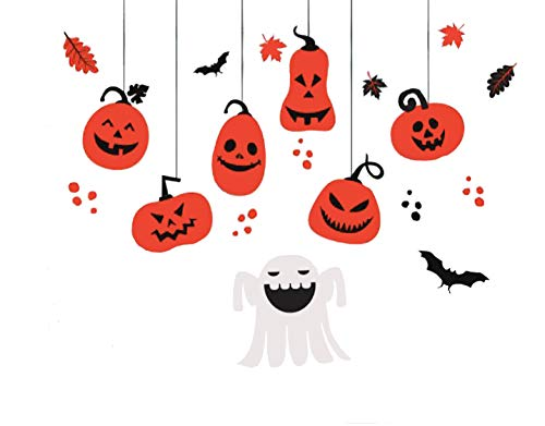 Halloween Window & wall Decals, Halloween Clings Decals,