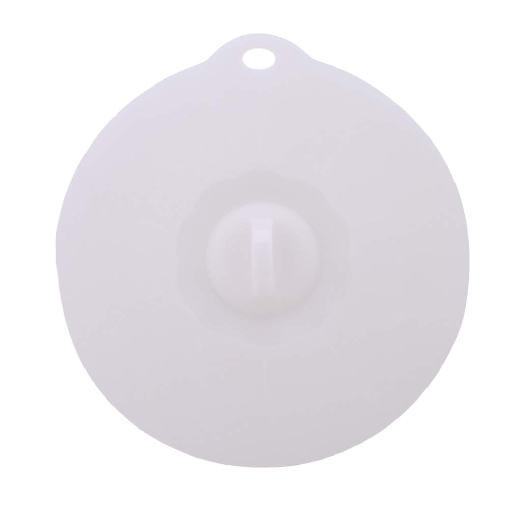 Blanc Toporchid Couvercles En Silicone Cuvette Universelle En Silicone Pour Couvercles De Nourriture Couvercle En Silicone Casserole De Cuisine Accessoires De Cuisine