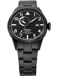 Kentex SKYMAN 6 Pilot Men's Automatic Black Dial Watch S688X-08