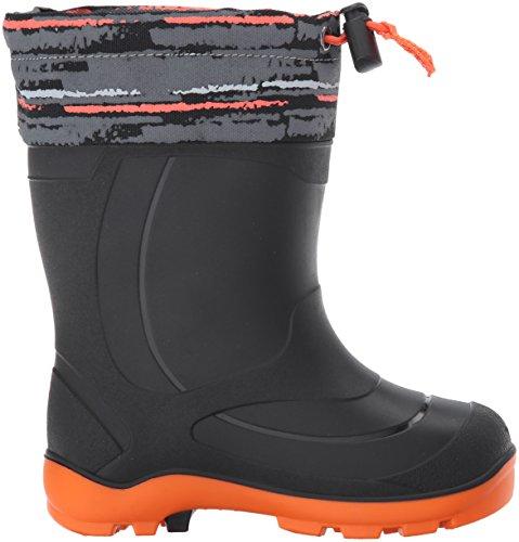 Kamik Kids Snobuster2 Snow Boot Charcoal/Orange