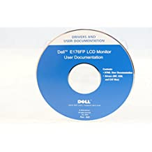Dell Drivers and Documentation E176FP LCD Monitor User Documentation - PC Computer Program Software Install Disc Driver Rev. A00 2005