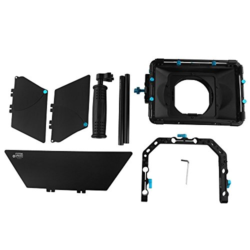 FOTGA DP3000 M4 DSLR swing away Matte Box Kits with top handle for All Camera Rigs with 15mm Rod Systems
