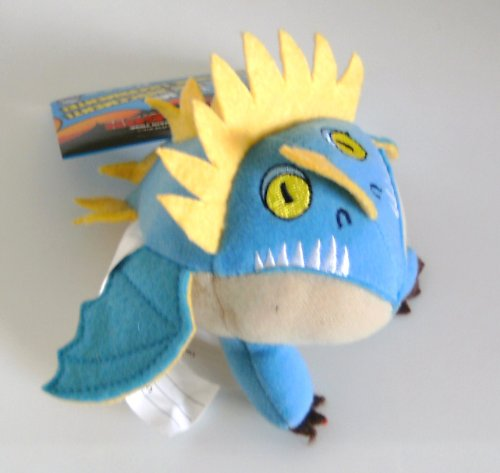 How To Train Your Dragon Movie Mini Talking Plush Figure Deadly Nadder Light Blue