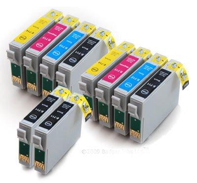 Badger Inks Ltd - Cartuchos de tinta (10 unidades, compatibles con ...