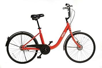 11ef0ff8025 Colortank Newest Orange Getb 24 inch City Bicycle, Adjustable Seats ...