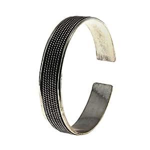 joyería de plata pulsera brazalete indio para las mujeres