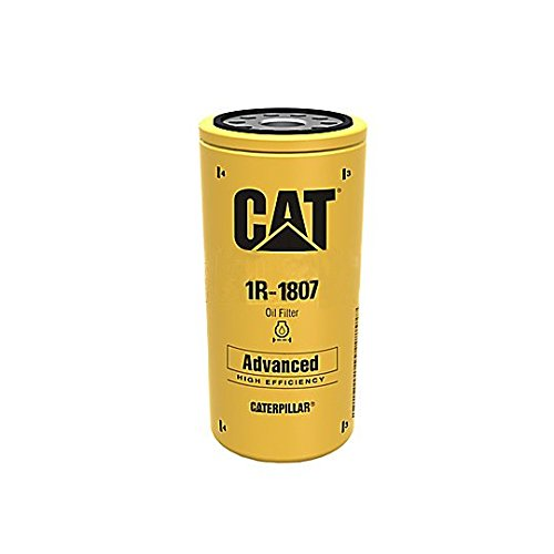 Caterpillar 1R1807 1R-1807 Engine Oil Filter Advanced High Efficiency Multipack (Pack of 2)