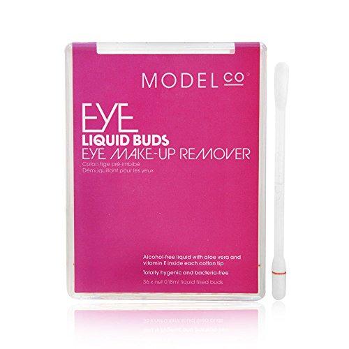 Model Co Liquid Buds Eye Make Up Remover 36 x 0.18ml Liquid (Modelco Liquid)