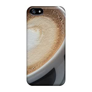Tpu Mwaerke Shockproof Scratcheproof Good Time For Coffe Hard Case Cover For Iphone 5/5s