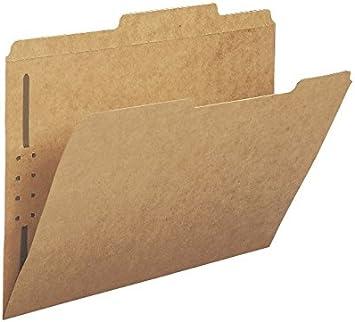 Smead Folder W//Fasteners Letter Kraft 14834