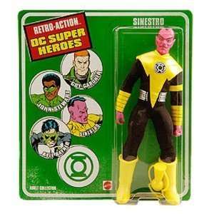 Retro Sinestro DC Superheroes Retro Action Figure (Retro Action Figures)