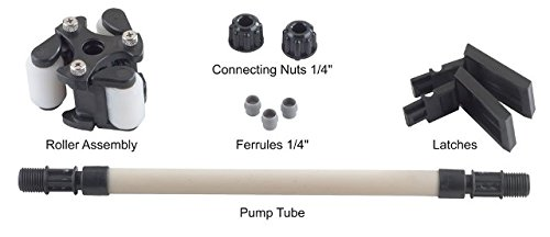 Stenner QP255K QuickPro Pump Head Service Kit with Santoprene Pump Tube #5 0-25 psi