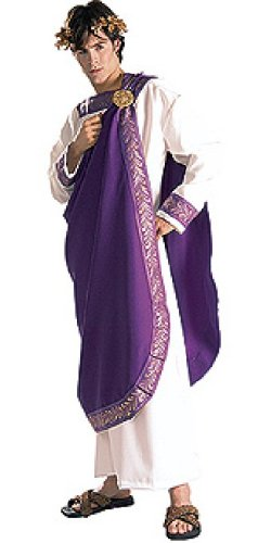Caesar Deluxe Costumes (Rubie's Costume Grand Heritage Collection Deluxe Julius Caesar Costume, Purple, Standard)