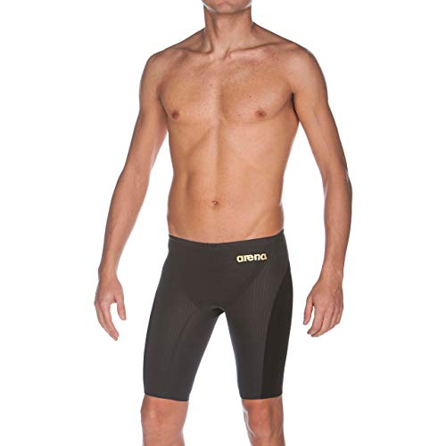 Arena Powerskin Carbon Flex VX Swim Jammer, Dark Grey/ Black, 26