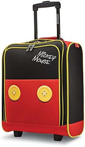 American Tourister Disney Softside Luggage, Mickey Mouse Pants, Underseater