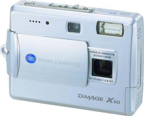 Konica Minolta Dimage X50 5MP Digital Camera with 2.8x Optical Zoom
