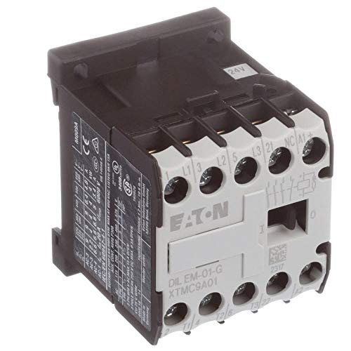 Mini Contactor 3P FVNR 9A Frame A 1NC 24VDC Coil (Hammer Cutler Mini)