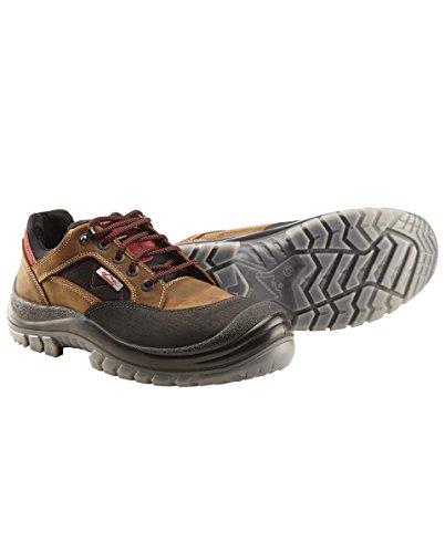 En Nubuck Stahlsohle Couleur Marron Marron Chaussures Pointure 48 gdqn5w