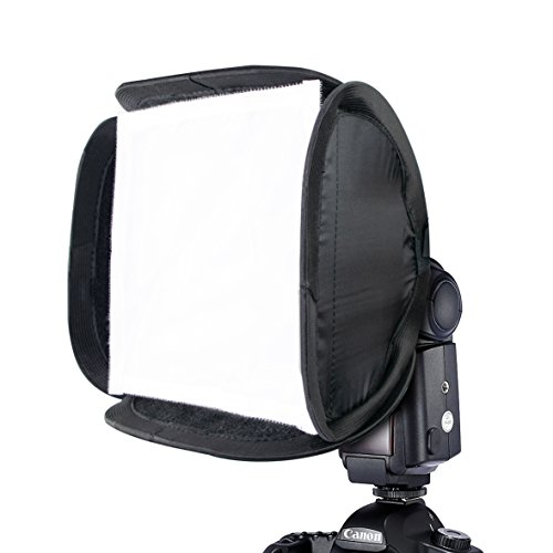 "Phot-R 9"" 23cm Flash Softbox Diffuser, Universal Portable Flash Modifier..."