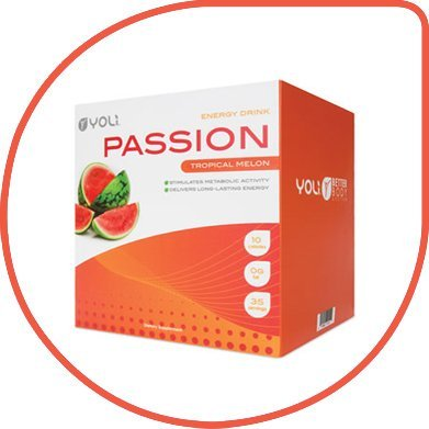 Yoli Passion Tropical Melon Packets