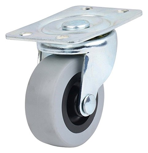 4-Pack Caster Classics Non-marking Low Profile Swivel Caster