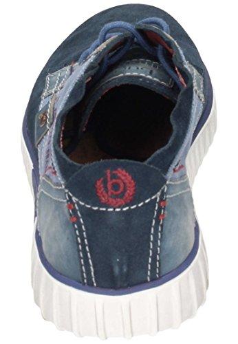 Bugatti Unisexe Chaussures À Lacets Bleu Bleu