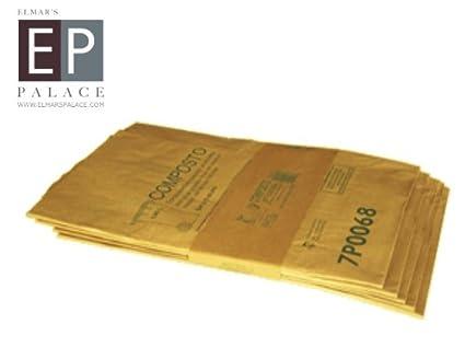 Bolsa bio/eliminación Saco/Contenedor Saco Papel 140 l 60 unidades)