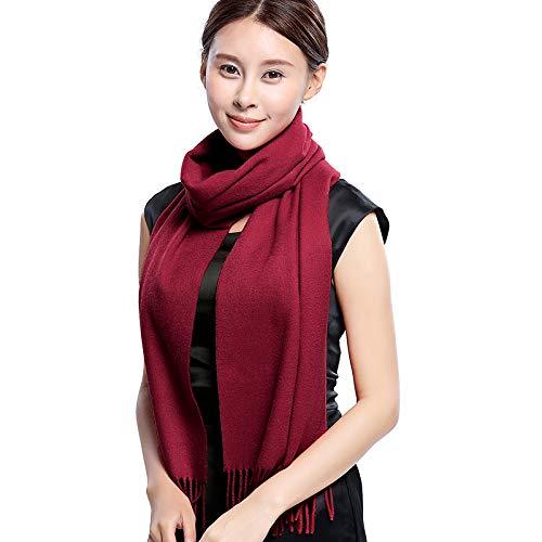 Agvbtqxzf Sciarpa Colore Modelli Caldi Donna Rosso Collo Solido Giuggiola Femminile Colletto Lungo Coppia Versatile Solido ddwzrpxq