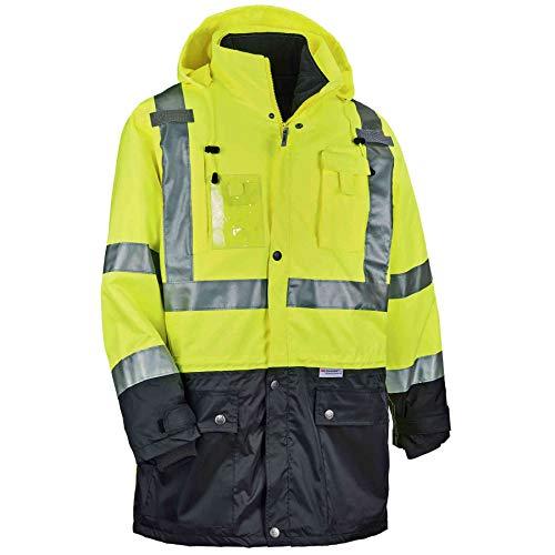 Ergodyne GloWear® 8388 Type R Class 3/2 Thermal Jacket Kit, Lime, M