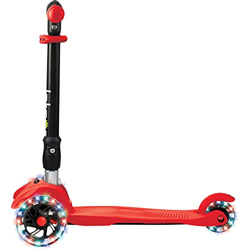 Jetson Solo 3-Wheel Folding Kick Scooter for Toddler and Kids - Lean...