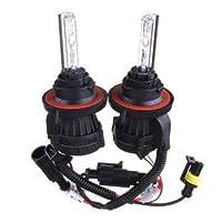 55W 9004 Dual Beam High Low Bi-xenon Bulbs DC12V Car Headlight Kit - Car Lights Car Headlights - 2 x HID Bi-xenon Hi/Lo Dual Beam Bulbs