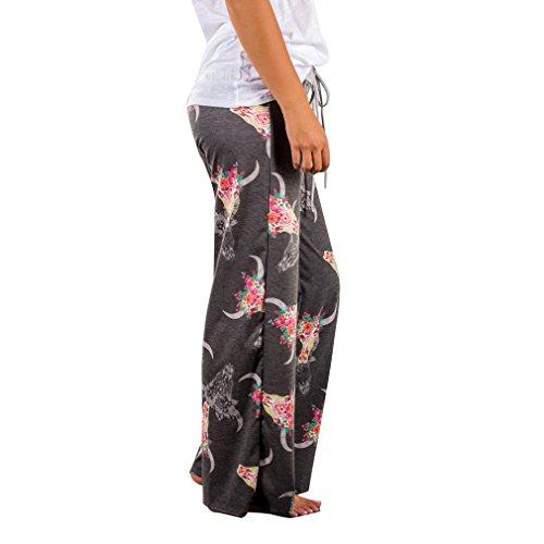 Élégant Hibote Plage Impression 2 Pantalon Yoga Femmes Harem 3xl Loisirs Plaine Jambe S Grande Large Taille Lche F8HFrq