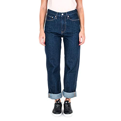 Donna Rise High Calvin Jeans Klein J20j207612 911 Black Ckj030 wq4E4XF