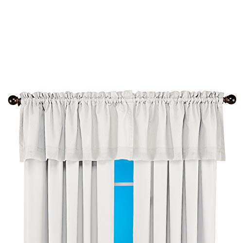 Collections Etc Insulated Double Layer Sheer Window Curtains with Energy Saving Thermal Technology, White, - Layer Double Sheer