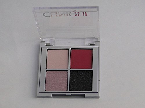 Clinique Mirror - CLINIQUE All About Shadow Quad Raspberry Beret Pink Chocolate Smoke And Mirrors Going Steady Travel Size 0.07 Oz