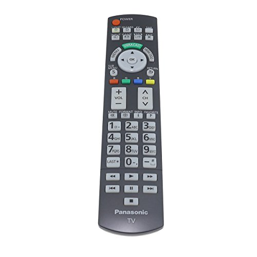 Factory Original Panasonic N2QAYB000486 TV Remote Control For Plasma Televisions
