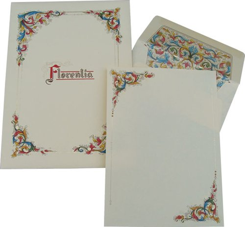 Florentia Sheets and Envelopes Portfolio: Florentine Stationery, Italian Paper