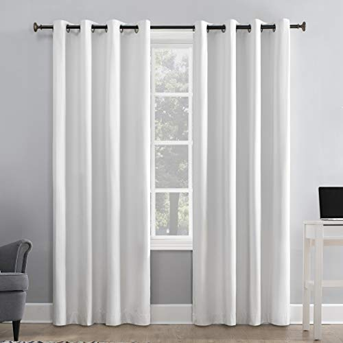 Sun Zero Cameron Thermal Insulated 100% Blackout Grommet Curtain Panel, 50