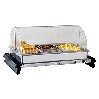 Amazon.com: cadco wtbs-3rt servidor de buffet Triple ...