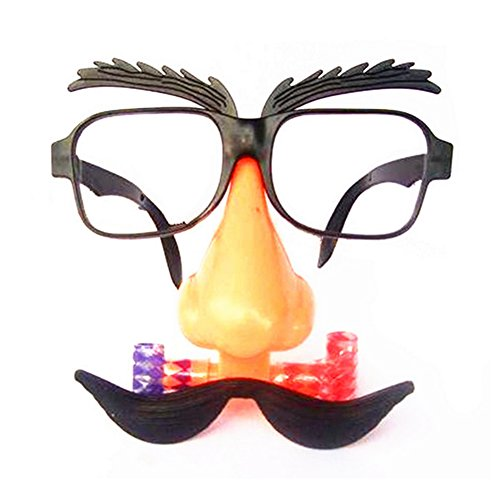 [KingBig Fancy Glasses, Party Favors Costume Prop Cosplay Glasses (Style 2)] (Trick Or Treat Costumes Images)