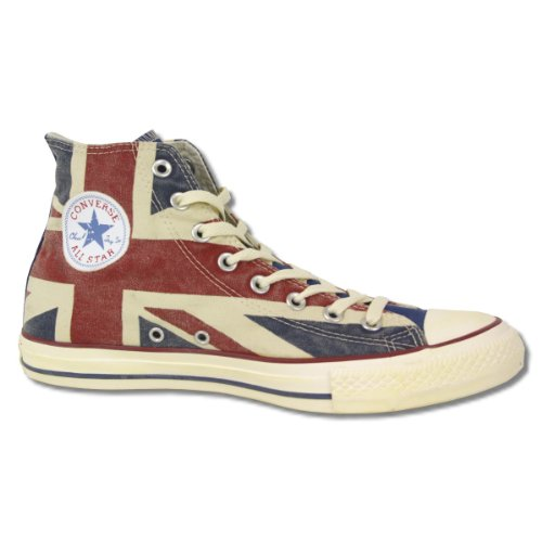 Converse Schuhe Chucks CT AS Hi UK Flag 135504 C blue red - 36,5