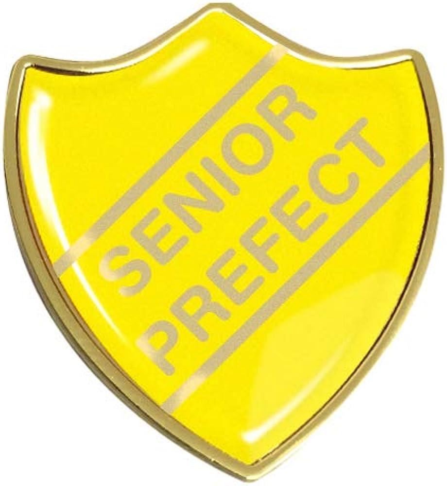 Capricornone Senior Prefect Gel Domed School Shield Badge